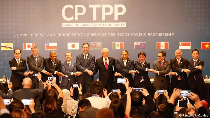 Onze países assinam acordo transpacífico sem EUA