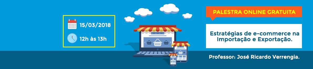 Palestra gratuita sobre E-Commerce na Importação e Exportação ajuda PEMs a abrir loja online