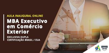 Aula Inaugural – MBA Executivo em Comércio Exterior