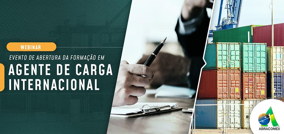 Aula Inaugural – Agente de Carga Internacional