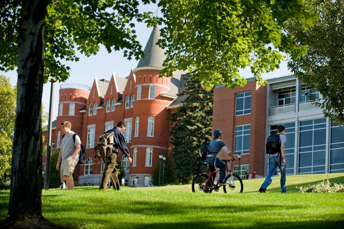 Estudando em uma universidade americana