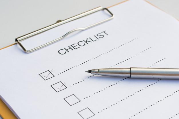 Lista de tarefas: você vai criar uma – ou deveria